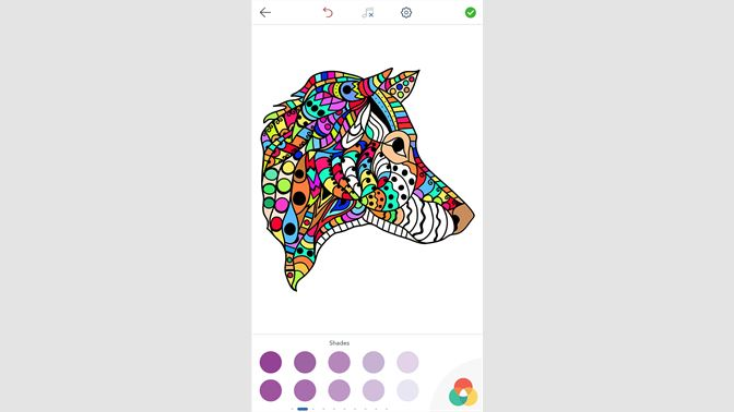 犬 の 塗り絵 大人 の 塗り絵 を入手 Microsoft Store Ja Jp