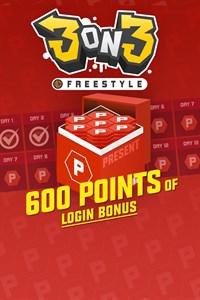 3on3 프리스타일 – 600포인트의 로그인 보너스