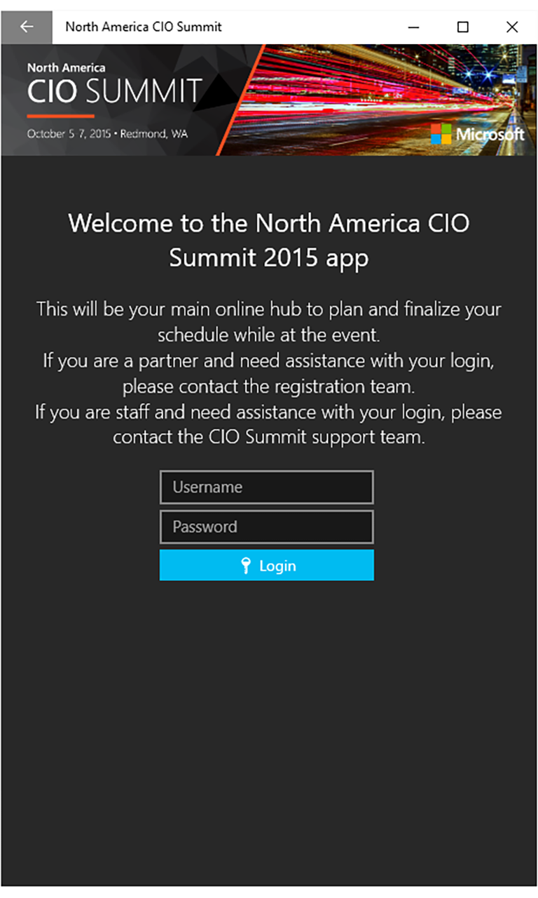 North America CIO Summit