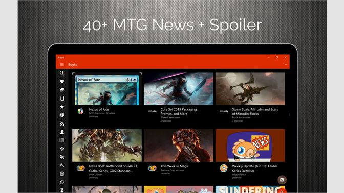 Get Bugko - MTG Tool - Microsoft Store