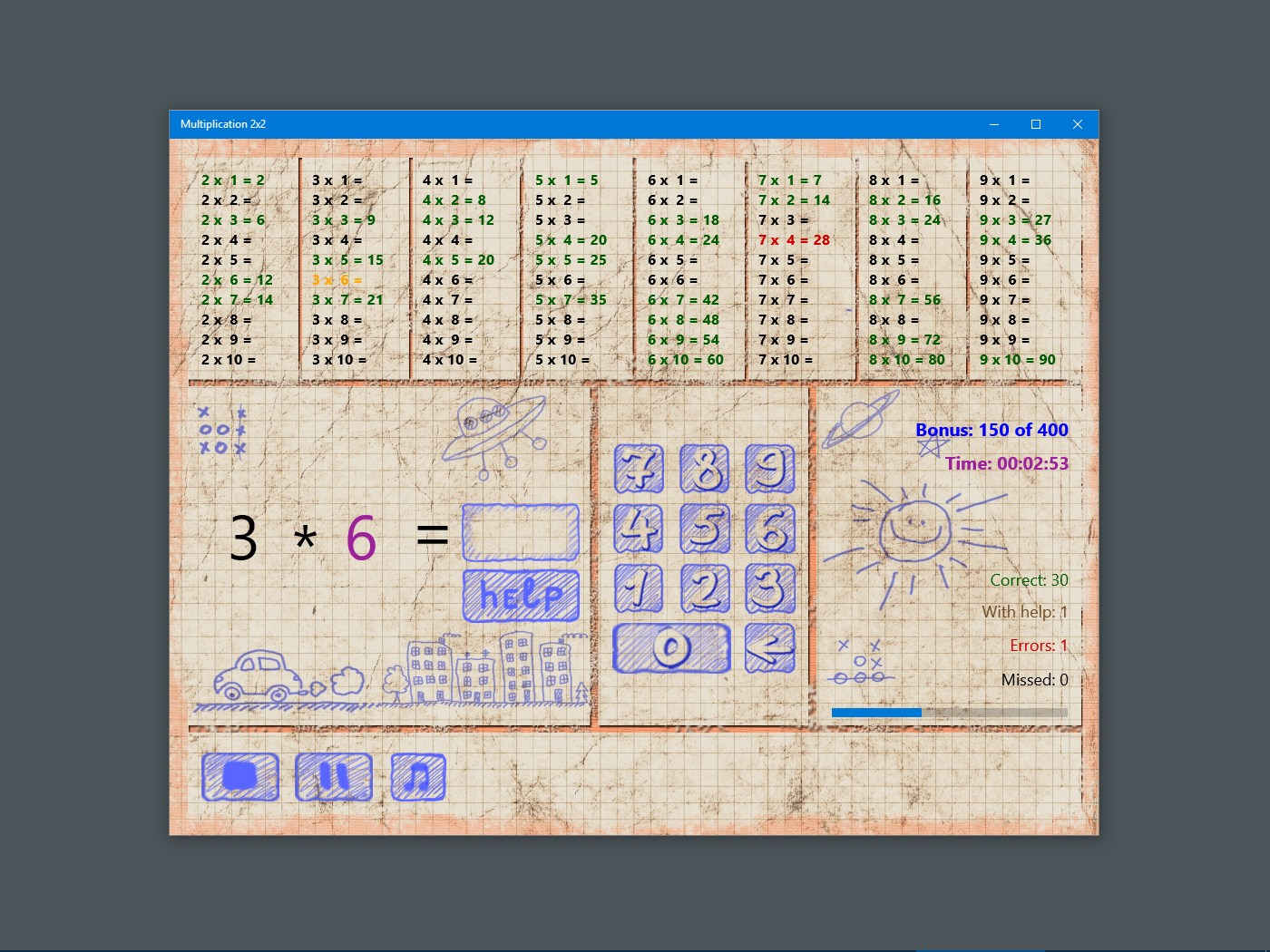 Multiplication 2x2 Windows Apps Appagg Images, Photos, Reviews