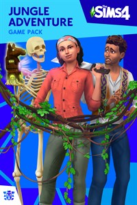 Carátula del juego The Sims 4 Jungle Adventure