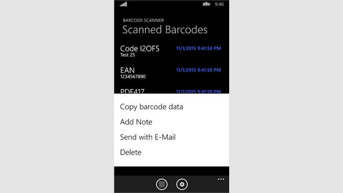 Get Barcode Scanner - Microsoft Store