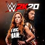 WWE 2K20 Logo