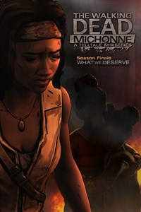 Carátula del juego The Walking Dead: Michonne - Ep. 3, What We Deserve