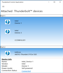 Thunderbolt Control Center for Windows 10 PC Free Download ...