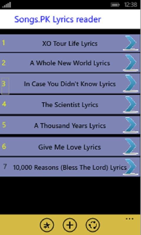 MX Player Lyrics