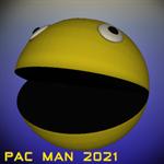 Pac Man 2021 Logo
