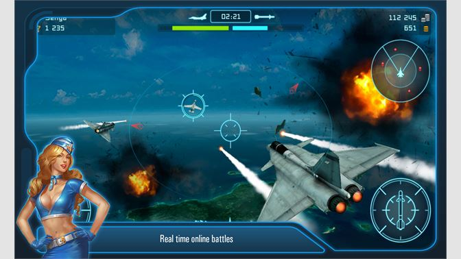 Get Battle of Warplanes: Airplane Games War Simulator
