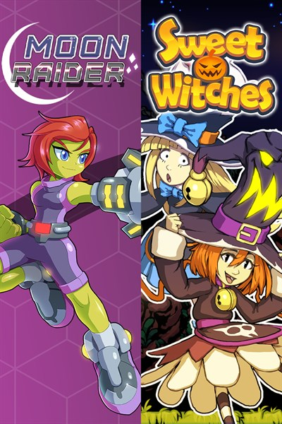 Moon Raider and Sweet Witches Bundle