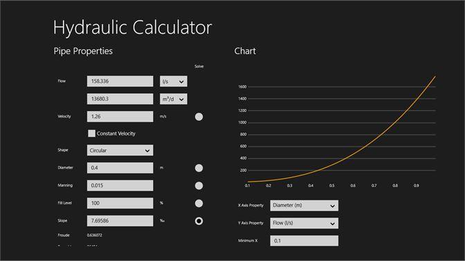 Get Hydraulic Calculator - Microsoft Store en-GH