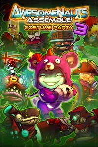 Costume Party 3 - Awesomenauts Assemble! Skin Pack
