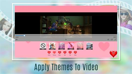 Love Videos: Free Video Editor, Photo Movie Maker & Slideshow Maker screenshot 2