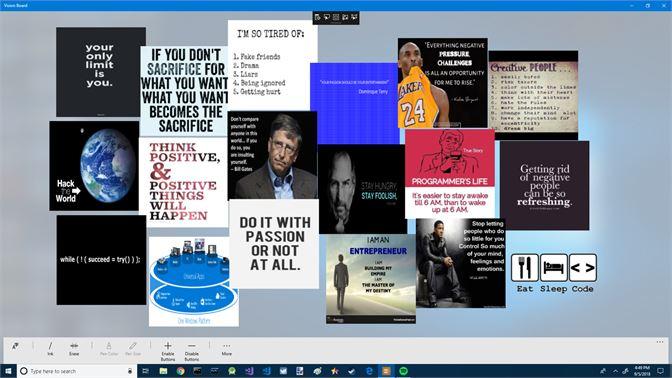 Get vision board microsoft store screenshot 1 maxwellsz