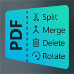 PDF Manager - Merge, Split, Trim Logo