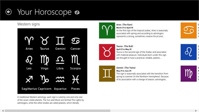 Get Your Horoscope - Microsoft Store