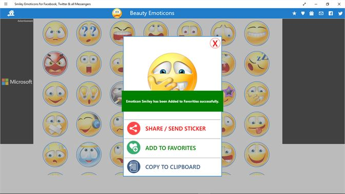 Get Smiley Emoticons For Facebook Twitter All Messengers