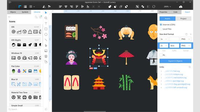 Get Lunacy - Graphic Design Editor, Sketch for Windows