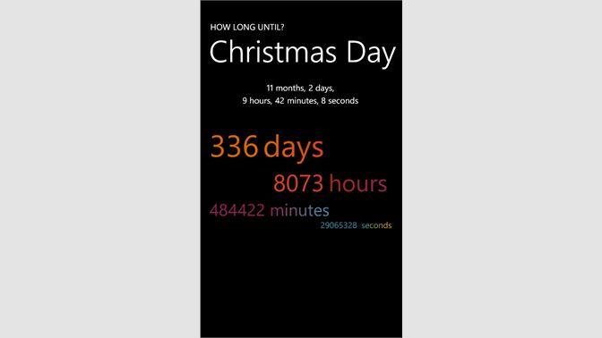 screenshot 1 - How Long Until Christmas