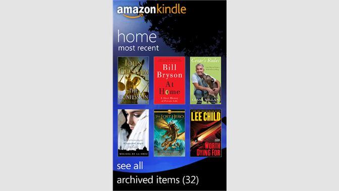Get Amazon Kindle - Microsoft Store en-AU