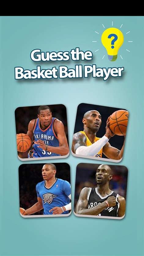 Basketball Super Star Trivia Quiz - Guess The Name Of Basketball player Screenshots 1