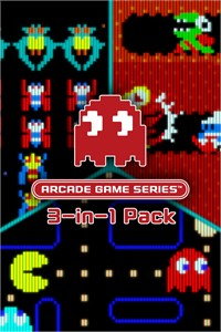 ARCADE GAME SERIES 3-in-1 Pack