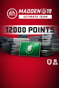 Madden NFL 19 Ultimate Team 12.000 Punkte-Pack