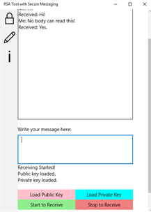 Secure Instant Messaging screenshot 2