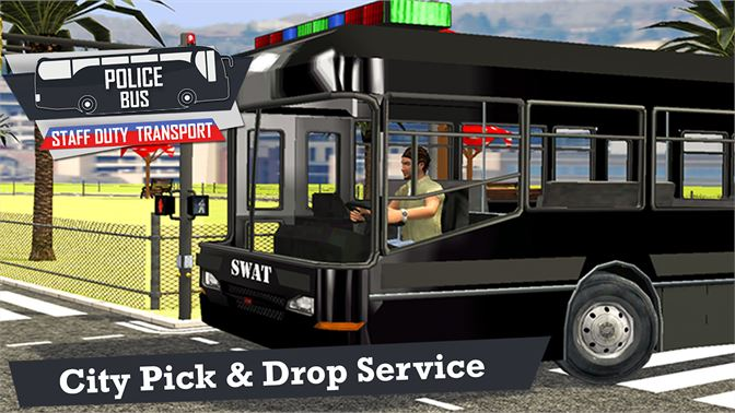 Get Police Bus Staff Duty Transport 3D - Pick and Drop - Microsoft Store