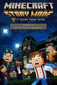 Carátula del juego Minecraft: Story Mode - Episode 6: A Portal To Mystery