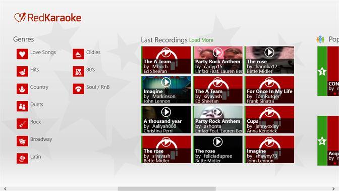 Get Red Karaoke for Lenovo - Microsoft Store