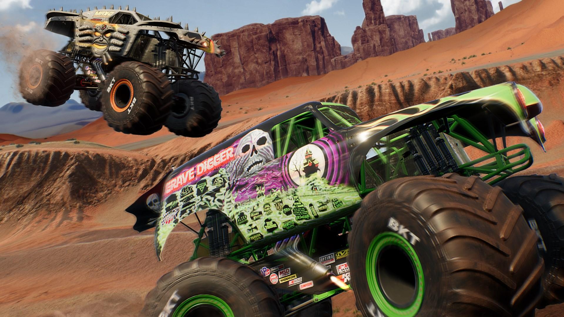 Monster Jam Steel Titans 3 Trucks instant access