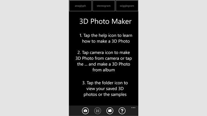 Buy 3D Photo Maker - Microsoft Store