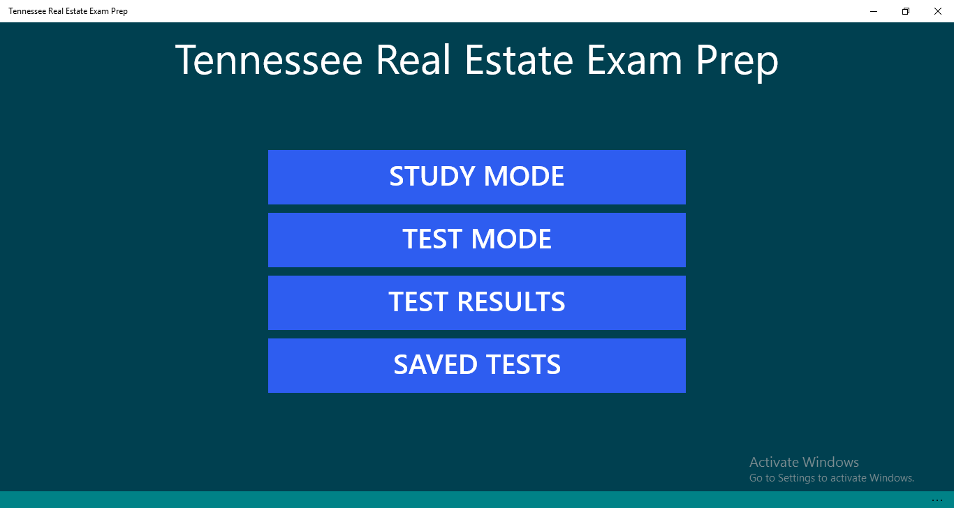 Buy Tennessee Real Estate Exam Prep - Microsoft Store