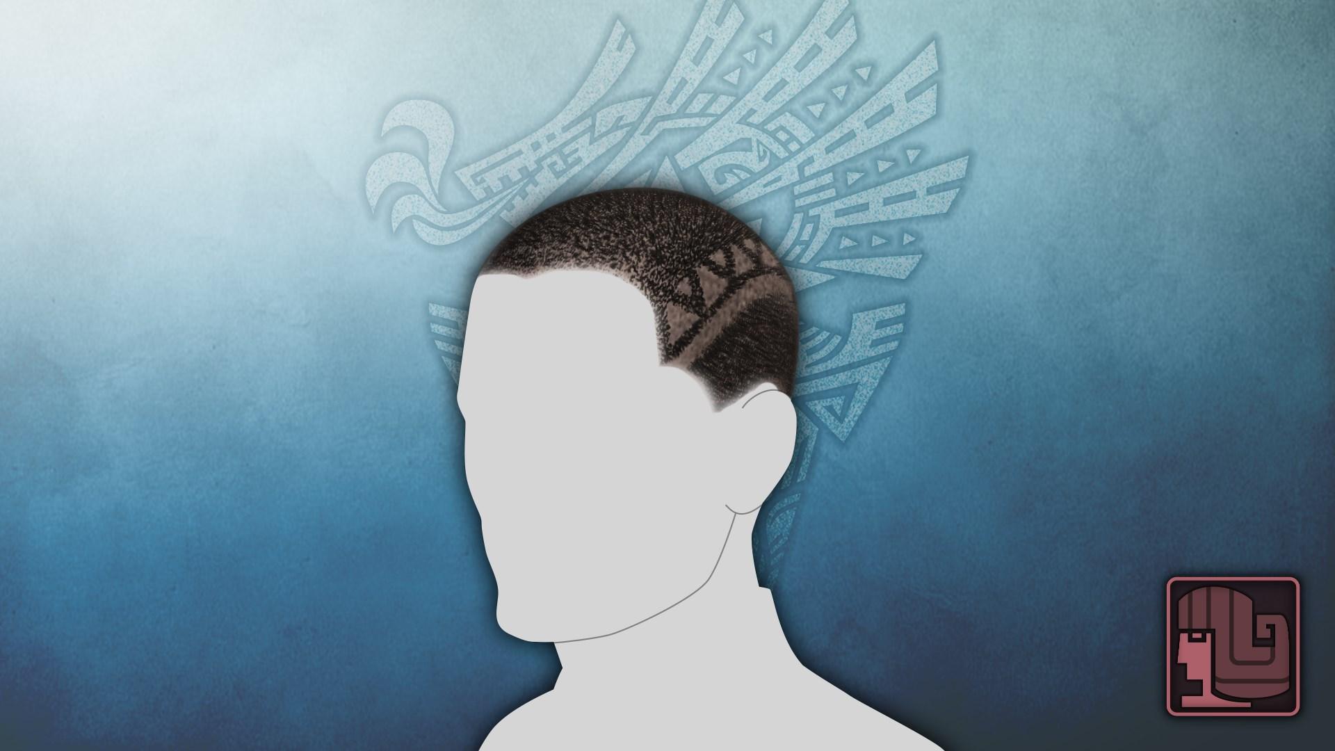Frisur: Reingefräst