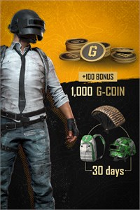 PUBG — Pacote Black Friday G-Coin I