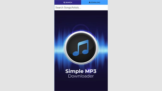 download simple mp3 downloader for pc