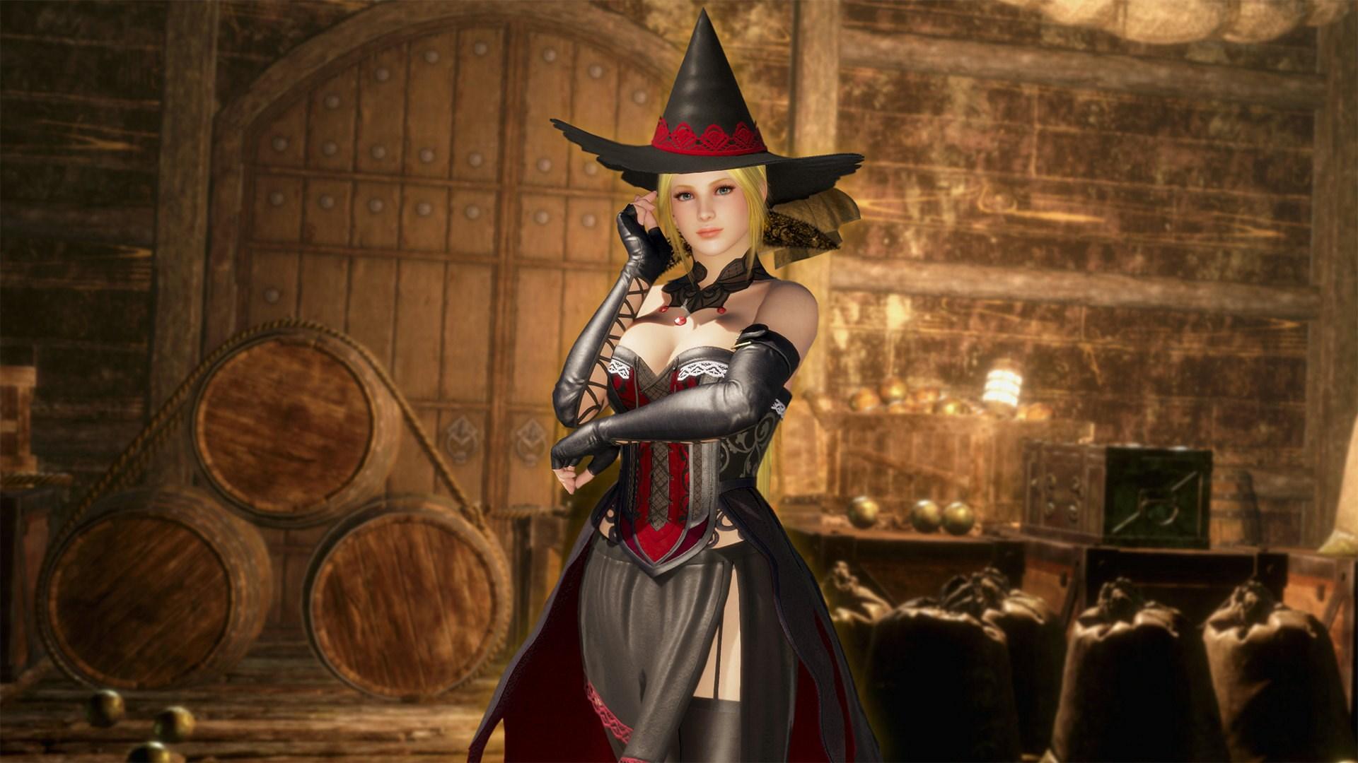 Traje de Fiesta de brujas de DOA6 - Helena