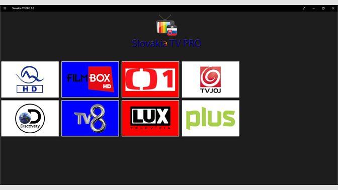 Buy Slovakia TV PRO 1 0 - Microsoft Store en-AU
