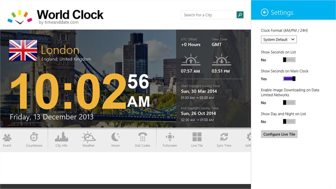Get World Clock - Time Zones - Microsoft Store