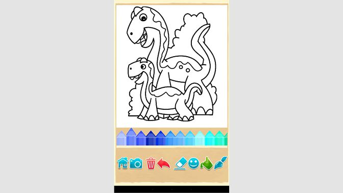 Obtener Juego de dinosaurio - colorear: Microsoft Store es-MX