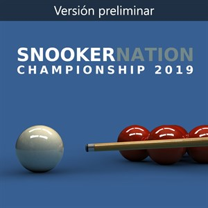 (GAME PREVIEW) Snooker Nation Championship Xbox One