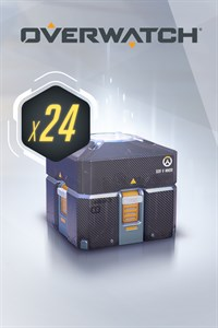 Carátula del juego Overwatch - 24 Anniversary Loot Boxes