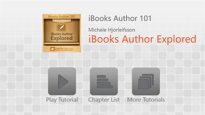 iBooks Author 101 - iBooks Author Explored kopen - Microsoft Store nl-NL