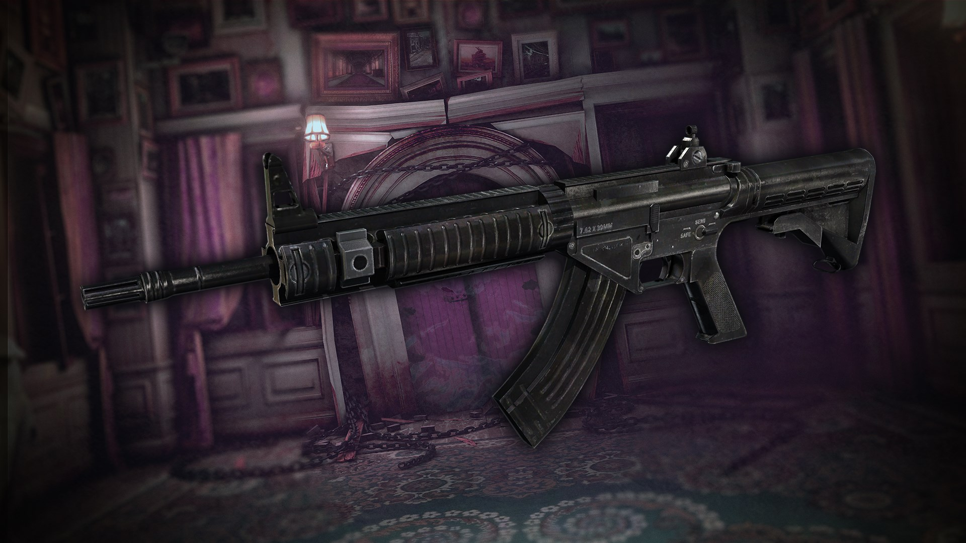 Raid Mode: Assault Rifle NSR47 & Parts