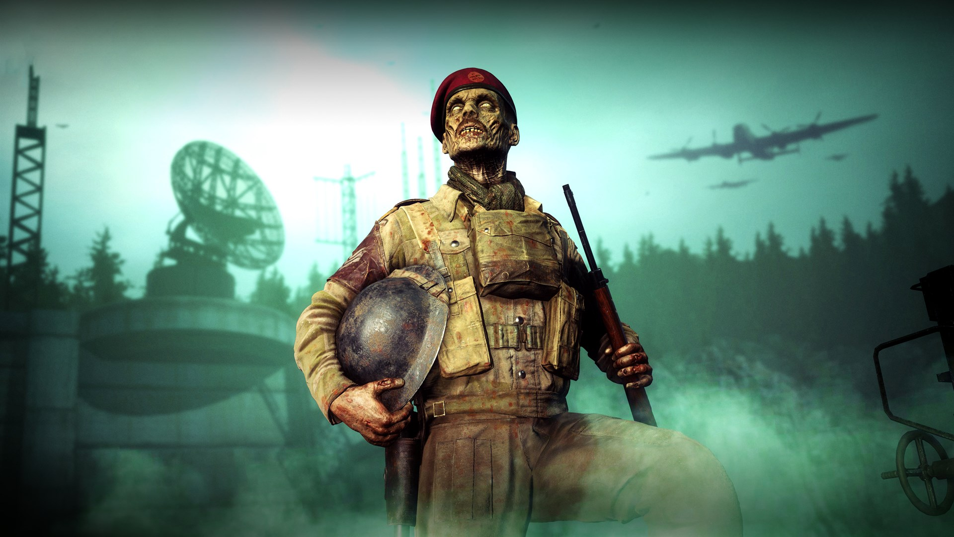 Zombie Army 4: Paratrooper Zombie Character
