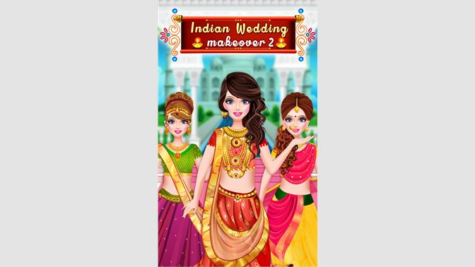Get Indian Wedding Dressup Makeover Fun Beauty Makeup Game For