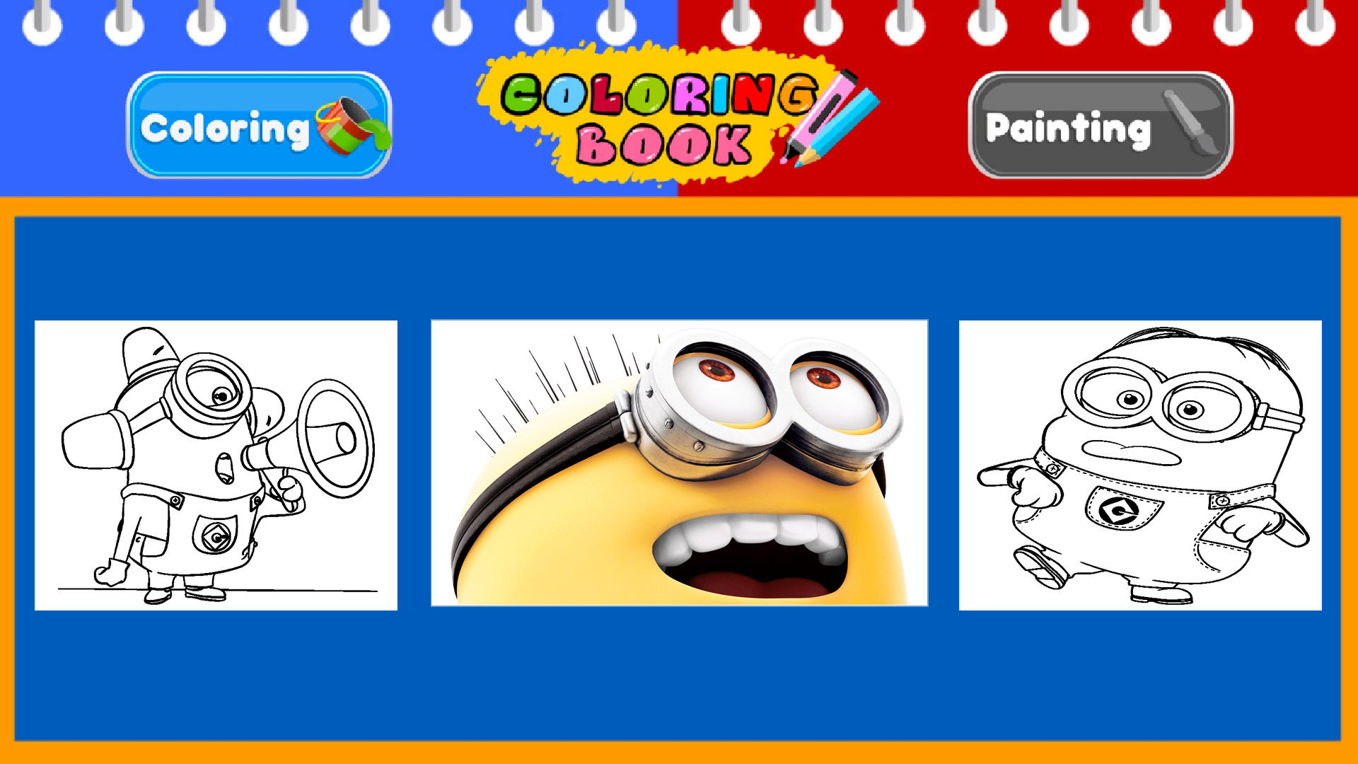 Get Minion Coloring Book And Painting - Microsoft Store