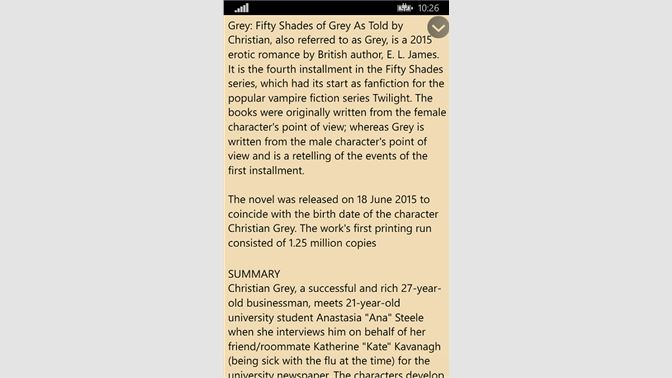 Get grey fifty shades of grey as told by christian microsoft store you may not access this content fandeluxe Image collections
