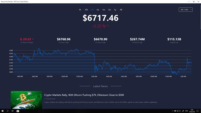 cryptocurrency market app windows